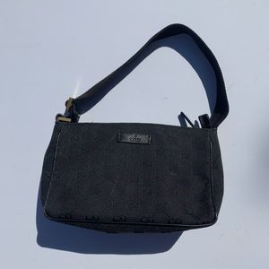 Authentic Gucci Mini Monogram Hobo Bag
